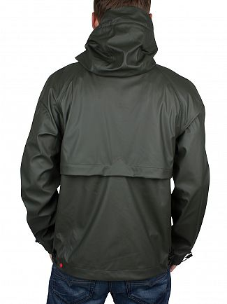 Hunter Dark Olive Original Rubber Windcheater