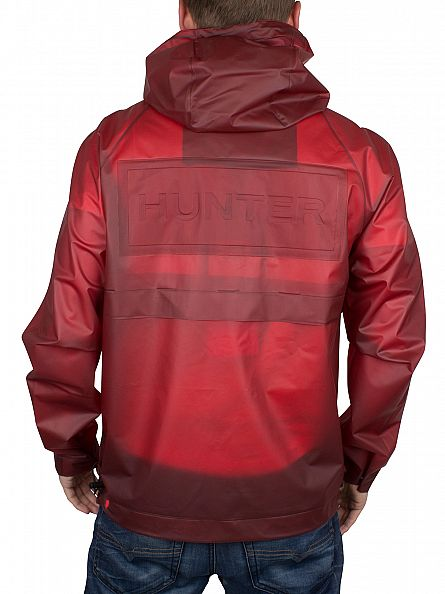 Hunter Military Red Original Vinyl Windcheater Jacket