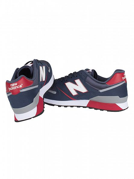 New Balance Navy Blue 446 Trainers