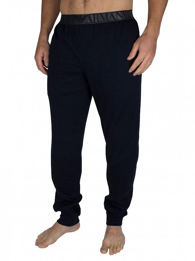 Emporio Armani Marine Logo Waistband Pyjama Bottoms