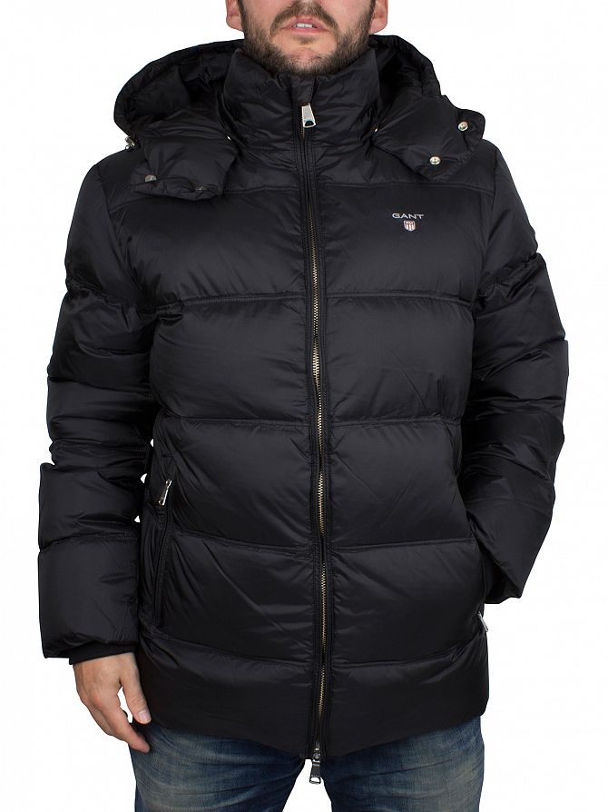 Gant Black The Alta Down Puffa Jacket