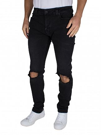 Only & Sons Black Skinny Fit Wrap 4785 Jeans