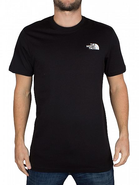 The North Face Black Red Box Logo T-Shirt
