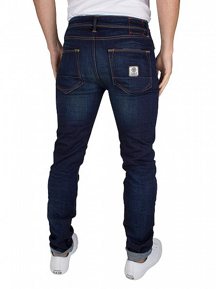 Franklin & Marshall Dark Blue Skinny Fit Seattle Jeans