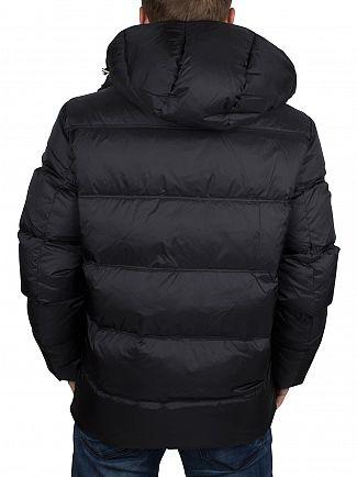 Gant Black The Alta Down Puffa Jacket