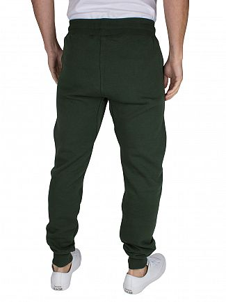 Sik Silk Forest Green Standard Logo Joggers