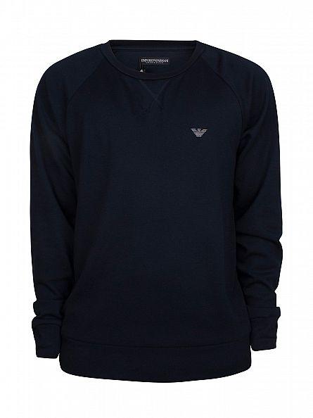 Emporio Armani Marine Logo Sweatshirt