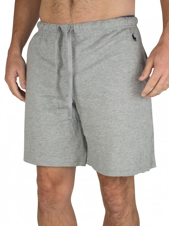 Polo Ralph Lauren Heather Grey Pyjama Sleep Shorts