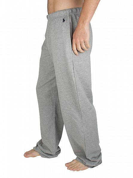 Polo Ralph Lauren Heather Grey Pyjama Jersey Bottoms