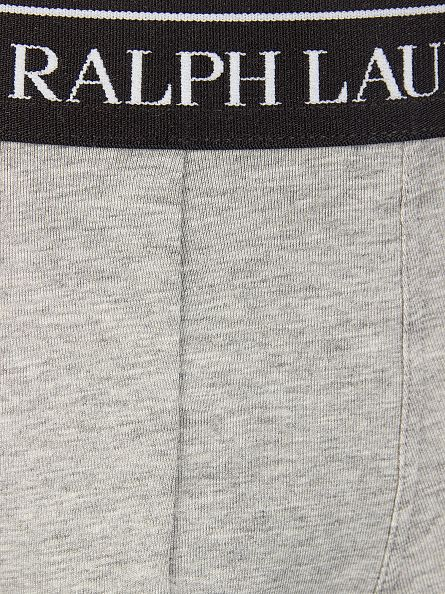 Polo Ralph Lauren Grey/White/Black 3 Pack Trunks