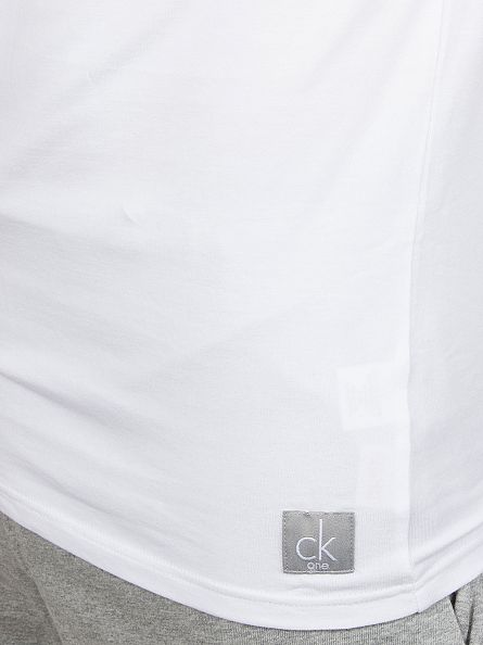 Calvin Klein White 2 Pack Crew Neck T-Shirts
