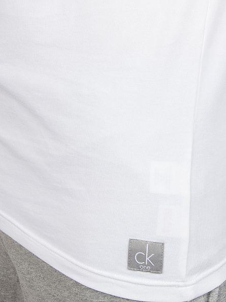 Calvin Klein White CK 2 Pack Vest
