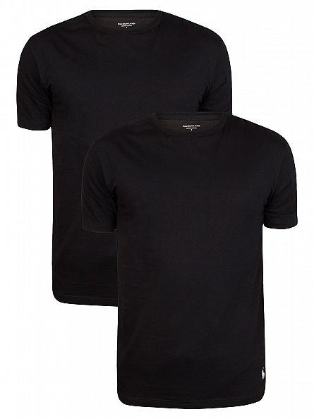 Polo Ralph Lauren Black 2 Pack Crew T-Shirts