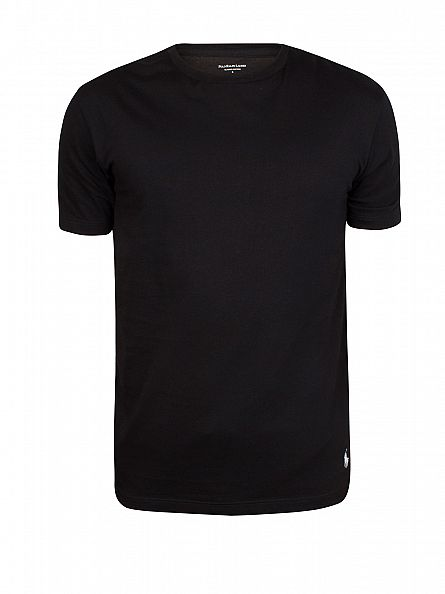 Polo Ralph Lauren Black 2 Pack Crew T-Shirts