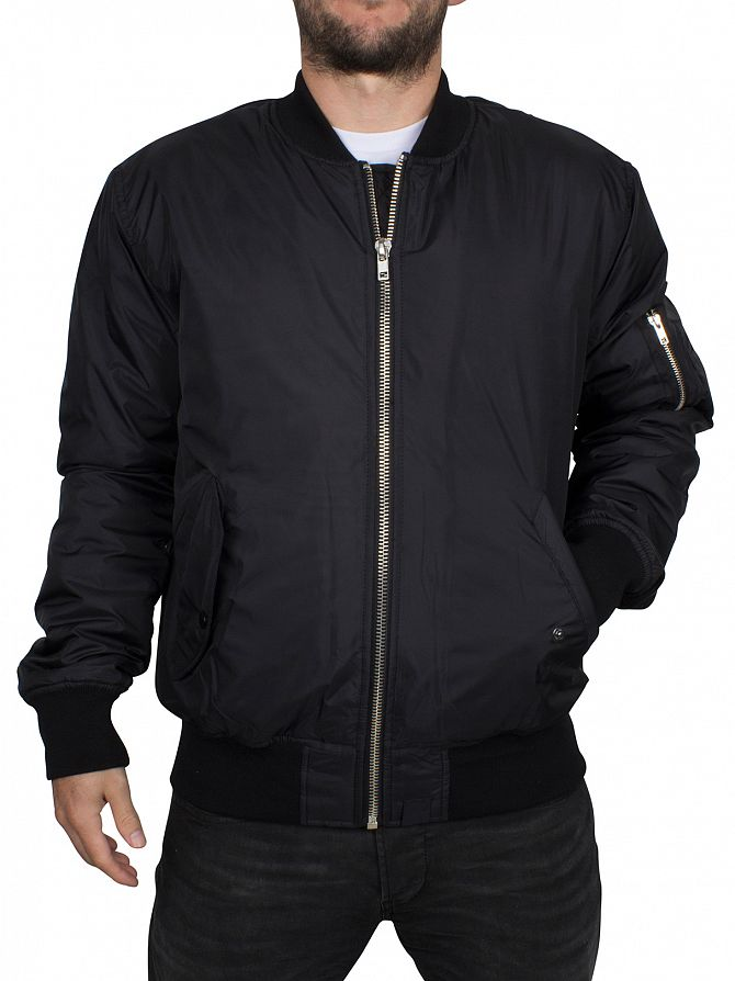Hype Black Core Bomber Jacket