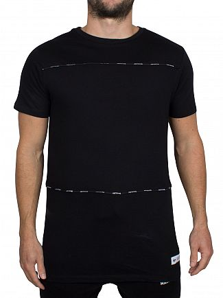Hype Black Taping C&S Logo T-Shirt