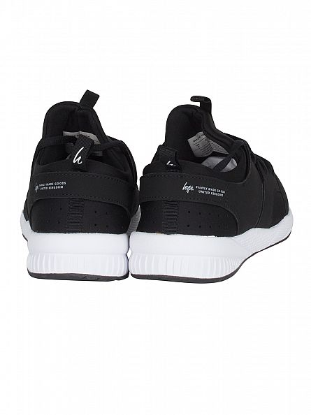 Hype Black Runner Trainers