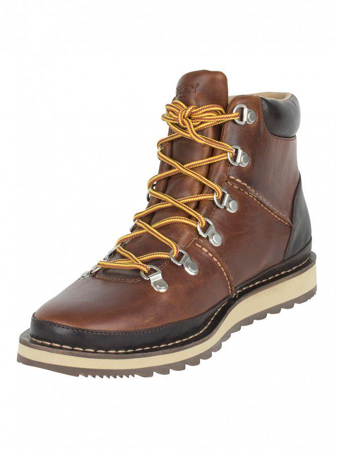 Sperry Top-Sider Tan Dockyard Alpine Boots