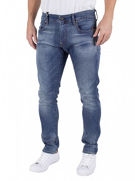 G-Star Medium Aged Antic Revend Super Slim Fit Jeans