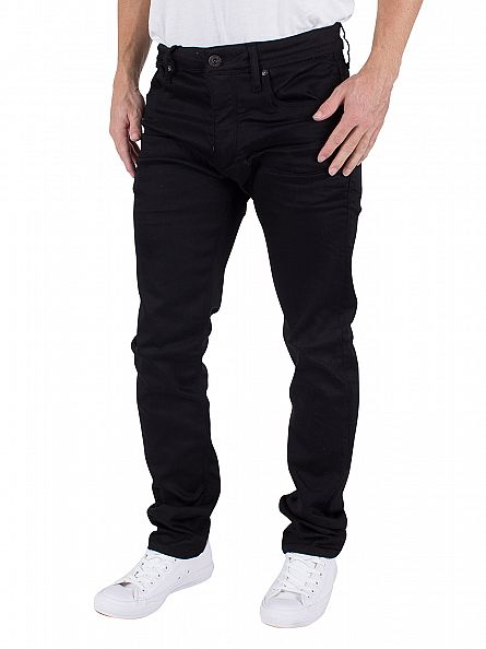 Jack & Jones Black Glenn Original 800 Slim Fit Jeans