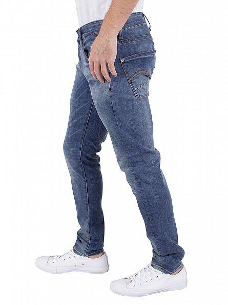 G-Star Medium Aged Antic Revend Super Slim Fit Jeans