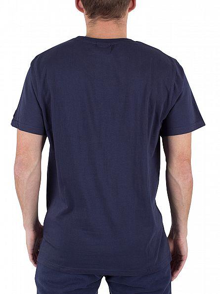 Ellesse Dress Blue Massina Graphic T-Shirt