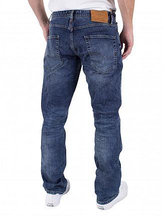 Jack & Jones Blue Denim Clark Original 432 Regular Fit Jeans