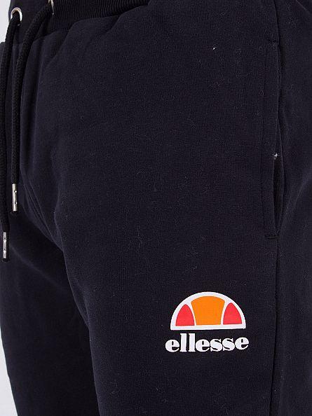 Ellesse Anthracite Ovest Fleece Logo Joggers