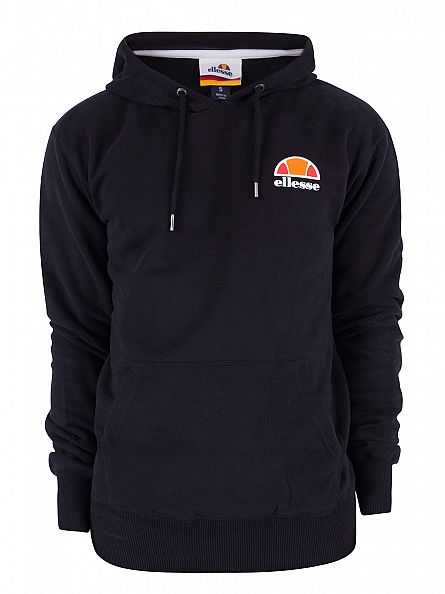 Ellesse Anthracite Toce Over Head Logo Hoodie
