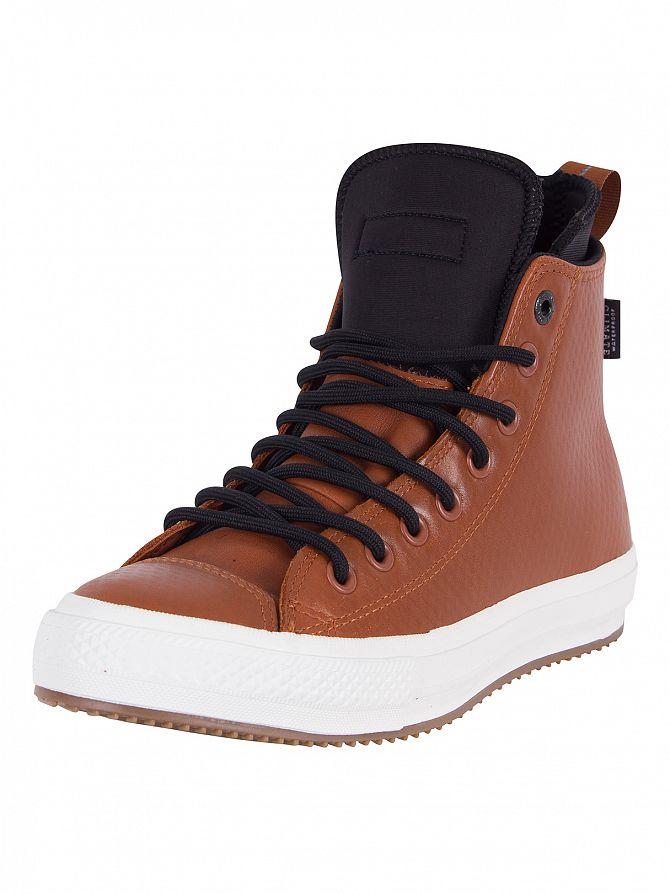 Converse Antique Sepia/Black/Egret Chuck Taylor All Star II Boot Hi Trainers