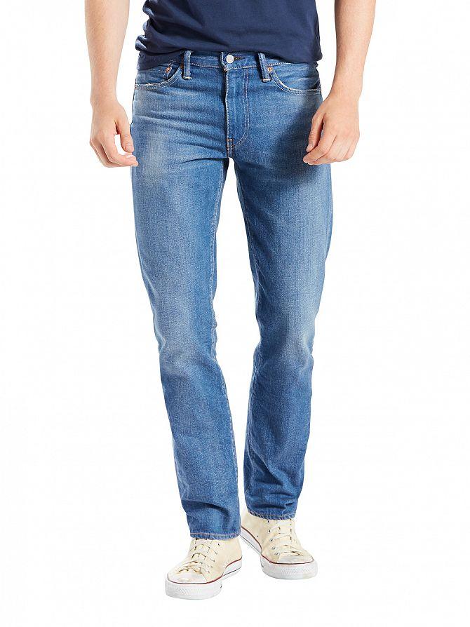 Levi's Light Wash 511 Slim Fit Walker Jeans