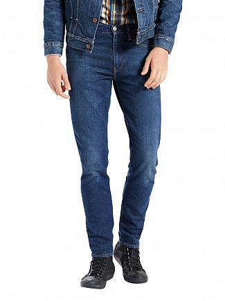 Levi's Medium Wash 512 Slim Taper Fit Glastonbury Jeans