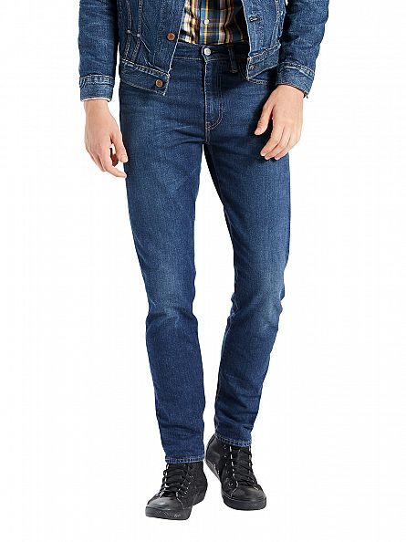 Levi's Medium Wash 512 Slim Taper Fit Glastonbury Jeans