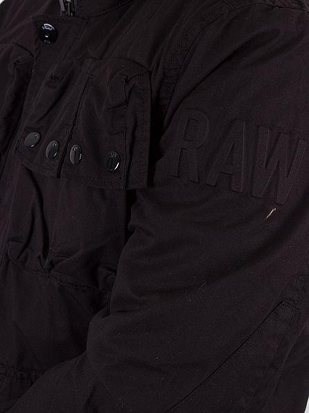 G-Star Black Ospak Padded Logo Jacket