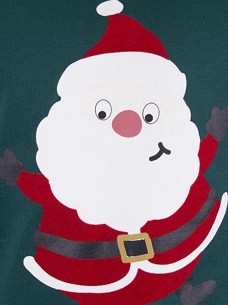 Jack & Jones June Bug Merry Father Christmas Sweatshirt