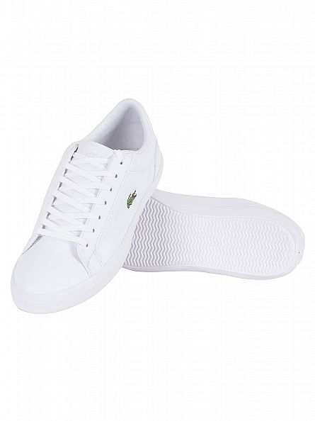 Lacoste White Lerond BL CAM Trainers