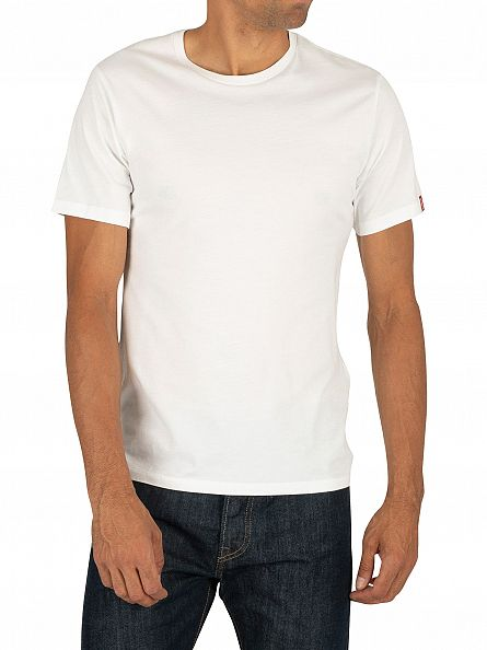 Levi's Navy/White 2 Pack Slim Fit T-Shirts