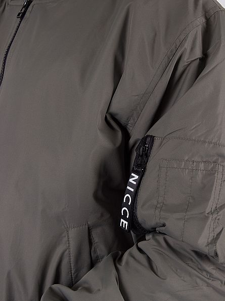 Nicce London Khaki MA-1 Bomber Jacket