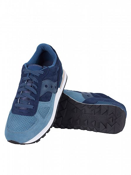 Saucony Blue/Teal Shadow Original Trainers