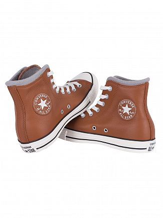 Converse Antique Sephia/Egret/Dolphin Chuck Taylor All Star Hi Trainers
