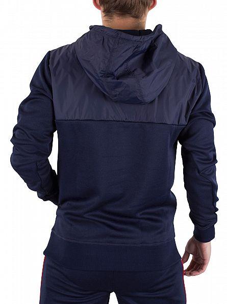Ellesse Dress Blue Rossellini Over Head Logo Hoodie