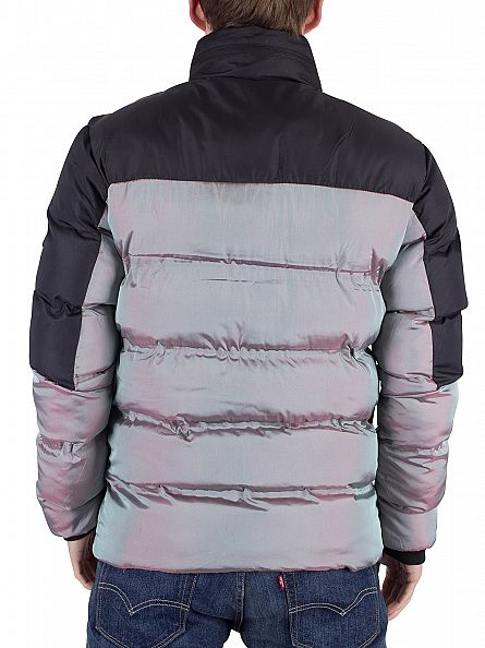 Foray Mineral Iron Iridescent Quilted Puffa Jacket