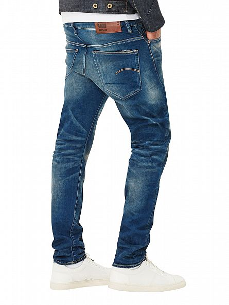 G-Star Medium Aged 3301 Slim Fit Jeans
