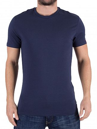 Levi's Navy/Red 2 Pack Slim Fit T-Shirts