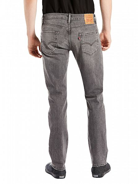 Levi's Charcoal 511 Slim Fit Berry Hill Jeans