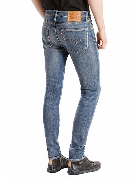 Levi's Mid Denim 519 Extreme Skinny Fit Wilderness Jeans