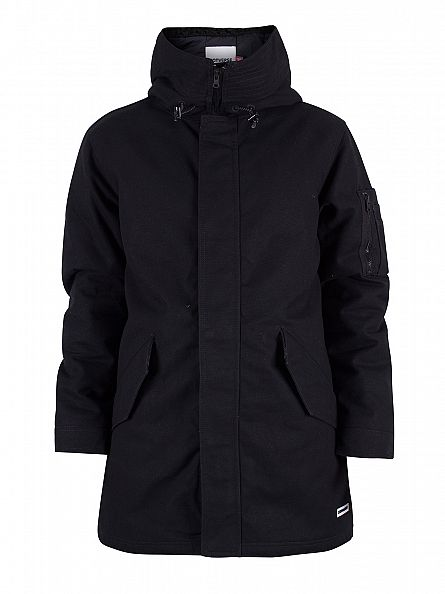 Converse Black Fishtail Parka Jacket