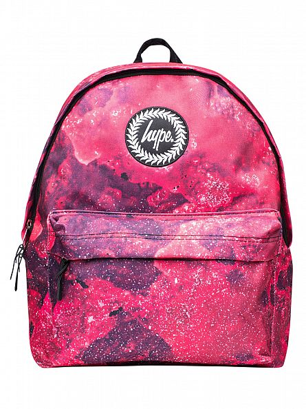 Hype Red Beetroot Logo Backpack