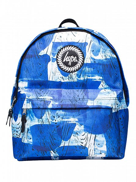 Hype Blue Wrap Blob Logo Backpack