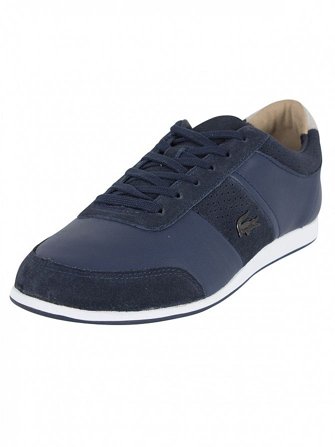 Lacoste Navy Embrun 117 1 CAM Trainers